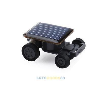 Mini Solar Powered Robot Racing Car Vehicle Educational Gadget Kids Gift Toy