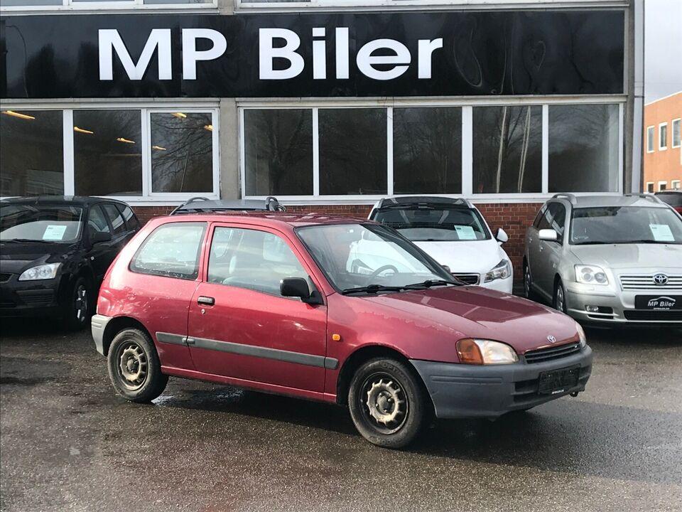 Toyota Starlet 1,3 XLi Benzin modelår 1997 km 70000 ABS