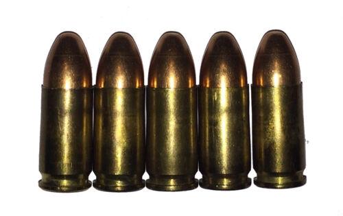 9x23 Largo Snap Caps Training Practice 9mm Bayard Bergmann Mars WWI Dummy Rounds