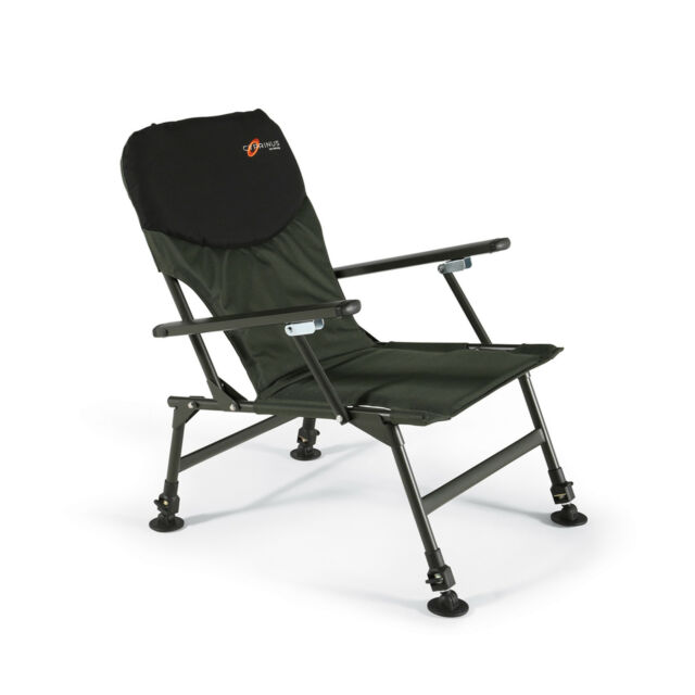 Cyprinus Fishing Folding Chair Seat With Arm Rests Carp