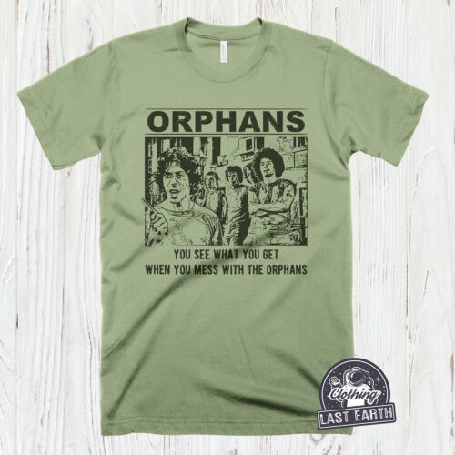 The Orphans The Warriors T-Shirt Vintage 80/'s Movie Shirt Mens Cool Graphic Tees