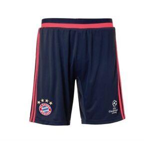 Adidas-Pantalones-deportivos-cortos-BAYERN-MUNICH-Alta-Calidad-Cl-en-S-M-L-XL-XX