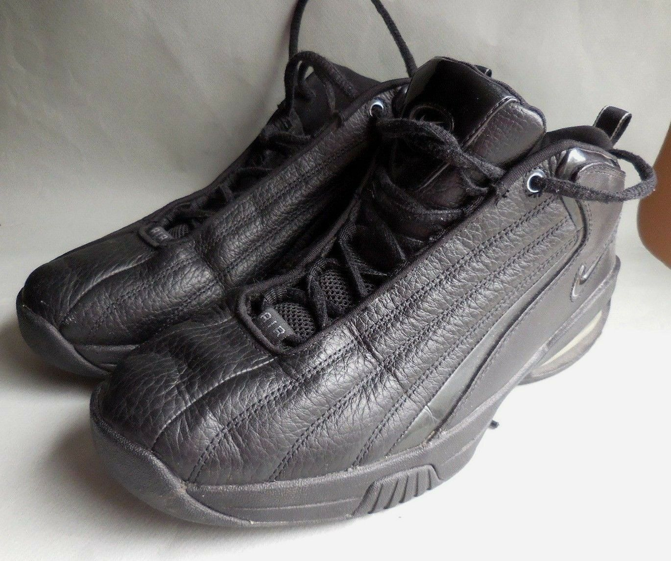 Uomo ORIGINAL NIKE AIR TRIPLE BLACK SNEAKER  ~ NEW ~ 10