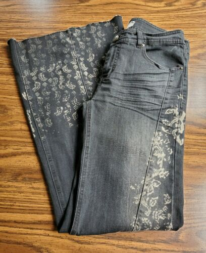 💥Rare- Free People Black Bali Flares/Bell Bottoms