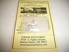 Tomar HO Scale Hayes Derail Kit Cast Metal #9501  Extremely well detailed! BTTG
