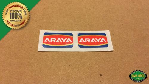 - Araya 7x Ukai RIms /& Wheels Araya Rim // Wheel BMX Decal Stickers 7C 1 Pair
