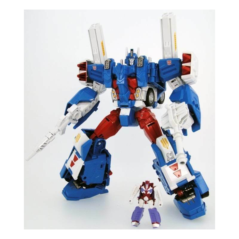 Transformers Legends LG14 ULTRA MAGNUS con Alpha Trion UK Venditore