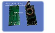 LED alimentatore 12V (5*12 1w)il driver corrente costante DC9-24V a15V-36V 350mA