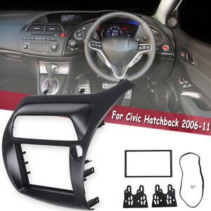 2-Din-Radio-Fascia-for-Honda-Civic-Hatchback-Stereo-Panel-DVD-Headunit-Frame-Kit