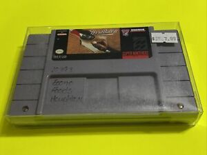 WORKING-SUPER-NINTENDO-SNES-RARE-GAME-CARTRIDGE-HARDBALL-3-Baseball