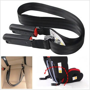 universal car adjustable baby safety seat soft link belt anchor holder isofix 4683812049632 ebay. Black Bedroom Furniture Sets. Home Design Ideas