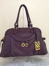 Joelle Hawkens By Treesje Runway Large Satchel/Tote Leather Handbag