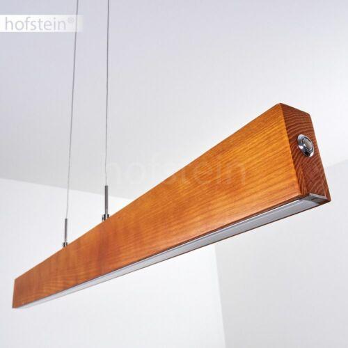 Holz Pendel Hänge Lampen LED Ess Wohn Schlaf Zimmer Raum Beleuchtung Touchdimmer