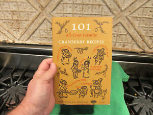 Old Baking Recipe Cookbook 1960s 101 Cranberry Recipes By Ocean Spray Very Retro Ebay