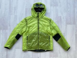CP-COMPANY-Outline-Goggle-Jacket-Hood-FW19-20-WaterResistant-Windproof-Green