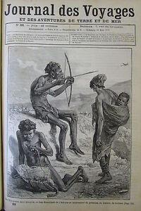 Zeitung-der-Voyages-Nr-88-von-1879-Afrika-die-Boschimen-Indien-Fete-Beim