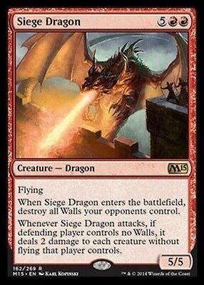 Drago da Assedio - Siege Dragon MTG MAGIC 2015 M15 Eng/Ita
