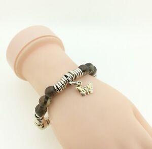 Image Is Loading Links Of London Sweetie Bracelet With Brown Crystal