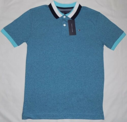 SHORT SLEEVE 12//14 20 L//G NWT M XL TOMMY HILFIGER BOYS/' POLO SHIRT 16//18