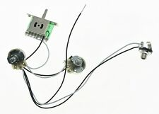s l225 2 guitar prewired control plates wiring harness 250k pots knobs  at reclaimingppi.co