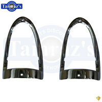 1955 Chevy Bel Air 150 210 Tail Lamp Bezels Pair