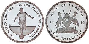 2000-SCHILLINGS-2000-CHELINES-Ag-UGANDA-1993-FIFA-1994-PROOF
