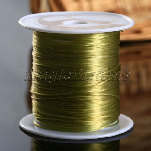 2 Rolls Elastic Beading Wire String Thread for DIY Craft Jewelry Bracelet Making