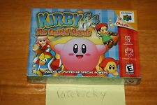 Kirby 64: The Crystal Shards (Nintendo 64 N64) - NEW SEALED NEAR-MINT, RARE!