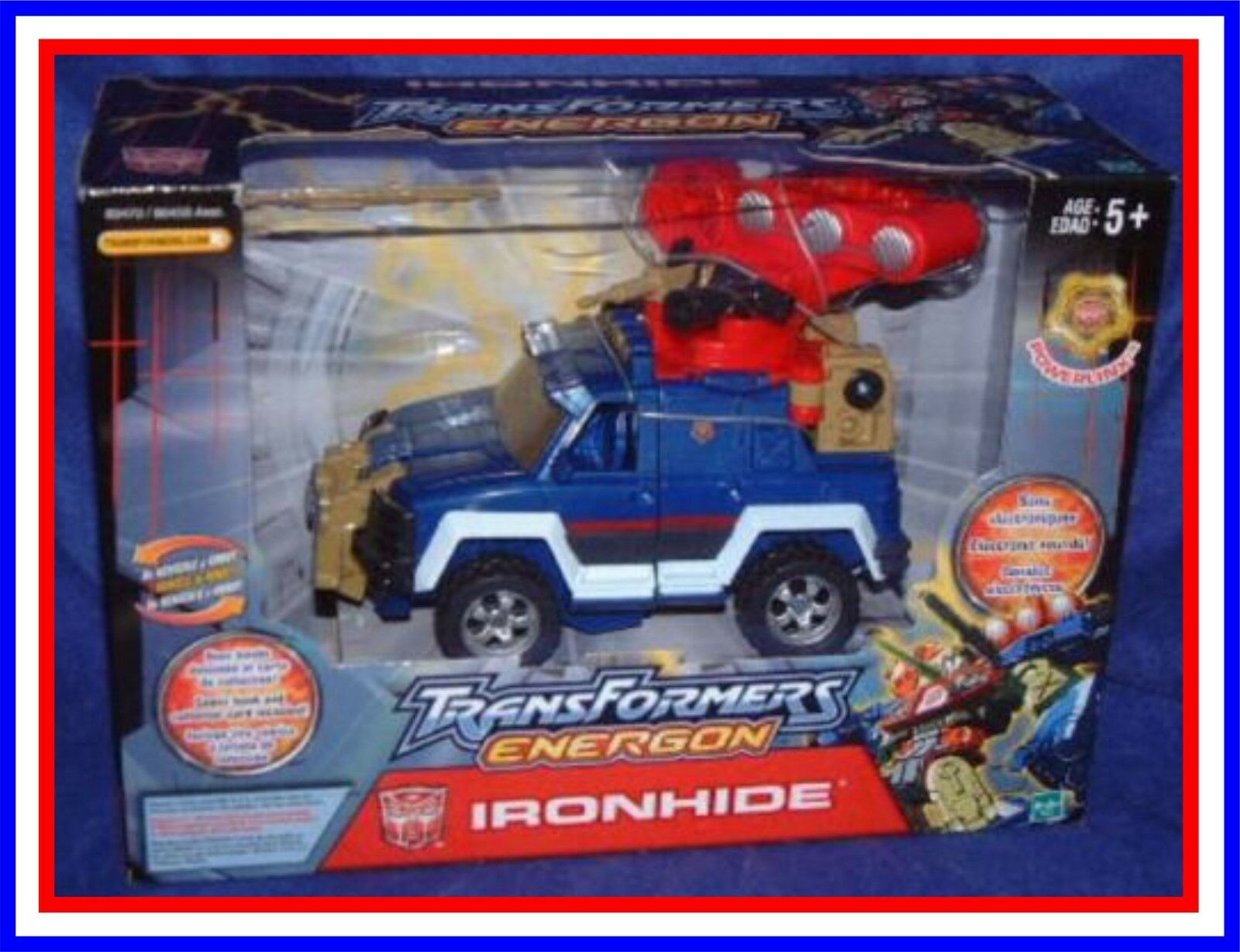 Transformers Energon _ Ironhide _  Mint in Factory Sealed Box