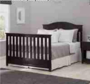 Delta-Children-Bennington-Elite-Full-Size-Bed-Conversion-Kit-Dark-Espresso-RARE