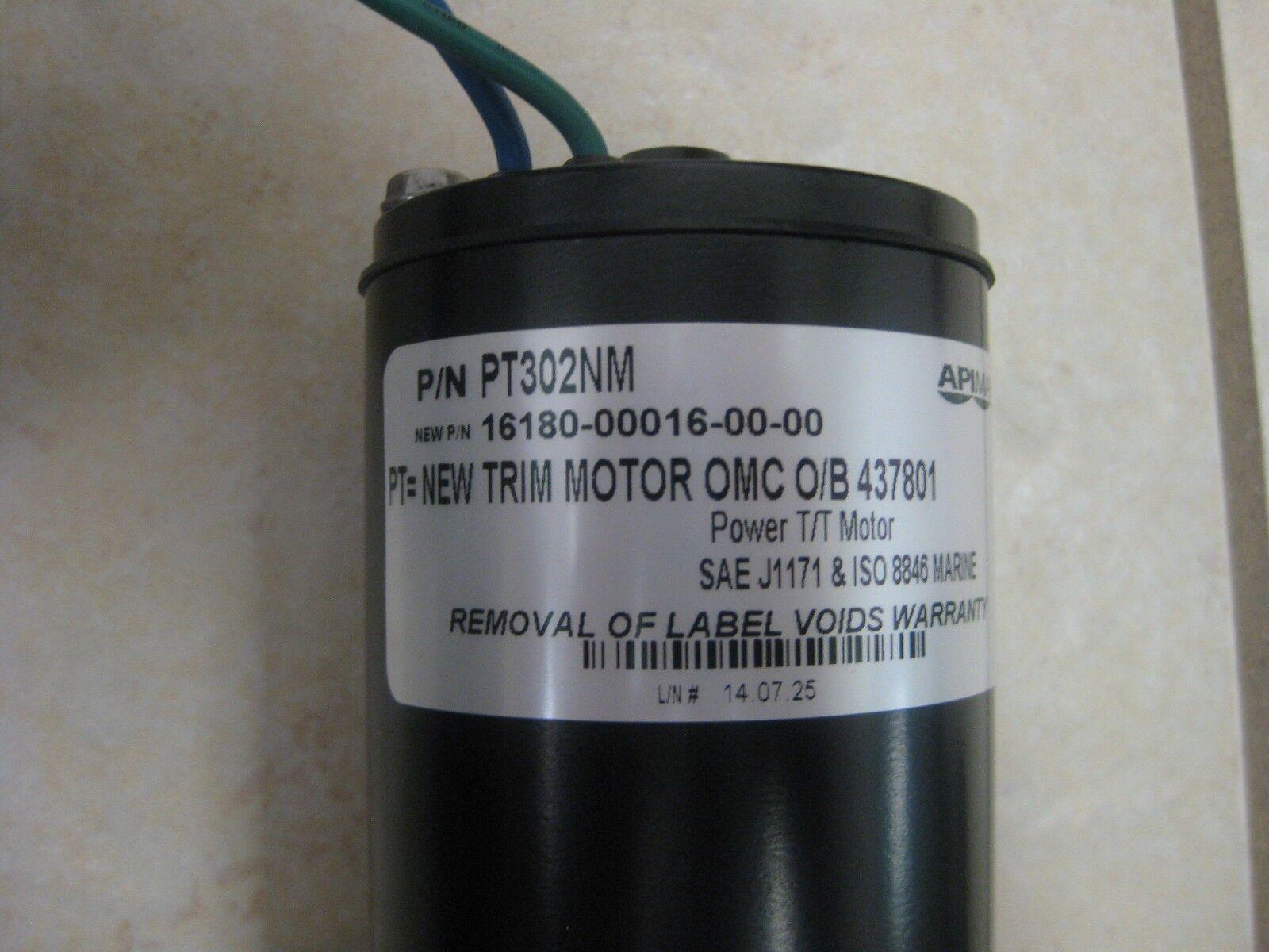 API MARINE Tilt Trim Motor PT302NM J//E 435532 /& 437801 HONDA 36120-ZV5-821