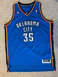 super popular 315e2 77376 Details about Oklahoma City Thunder adidas Kevin Durant #35 Jersey Size 2XL  men's Length +2