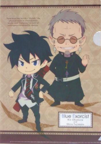 Ao no Blue Exorcist mini clear file folder official