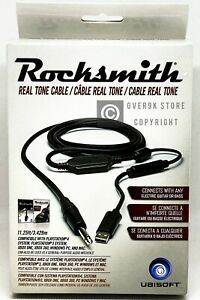 Rocksmith-2014-Real-Tone-Cable-Trilingual-Brand-New-NO-GAME-INCLUDED