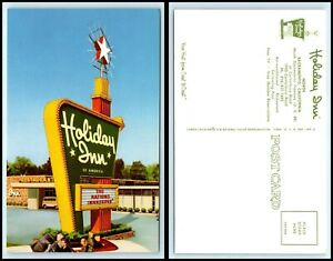 CALIFORNIA-Postcard-Sacramento-Holiday-Inn-H21