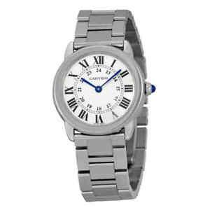 Cartier-Rondo-Solo-Small-Silver-Dial-Ladies-Watch-W6701004