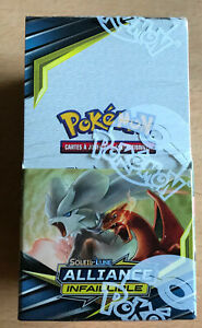 LOT-X-18-BOOSTER-CARTE-POKEMON-DISPLAY-SOLEIL-ET-LUNE-SL-10-ALLIANCE-INFAILLIBLE
