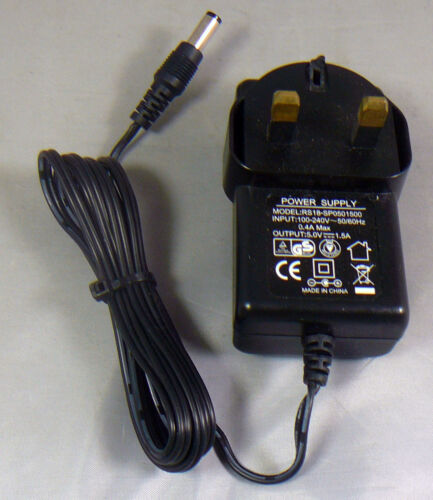 RS18SP0501500 5.0V 1.5A DC Mains Power Adapter