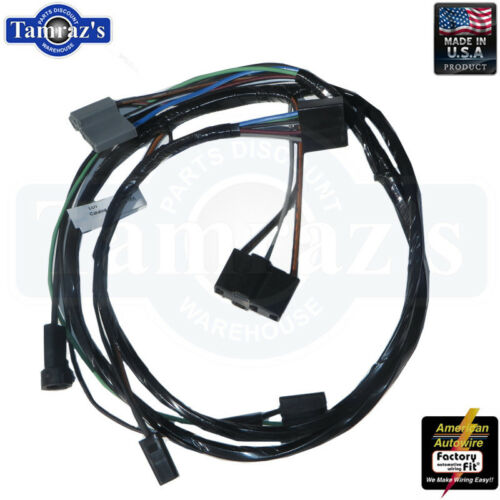 69-72 GTO Tempest LeMans Air Conditioning Wiring Harness Engine Side