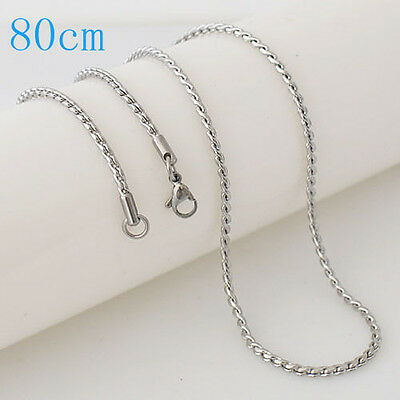 "Snap-It Stainless Steel 30"" Chain For Snap It Pendants"