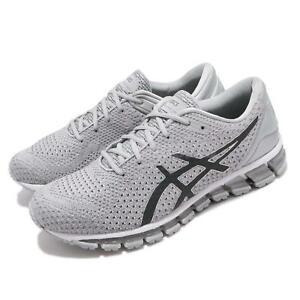4c57cd095d5 Asics Gel-Quantum 360 Knit 2 II Silver Dark Grey Men Running Shoes ...