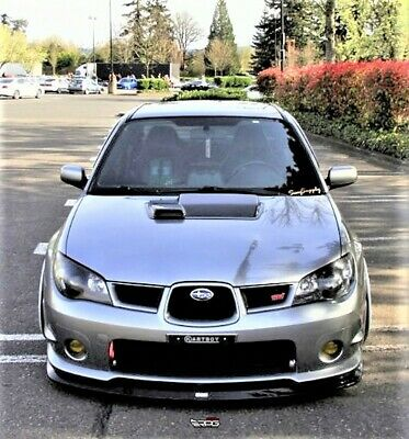 "RPG STi Large 4/"" FRP Hood Scoop Upgrade for 02-03 Subaru Impreza WRX STi GDA"