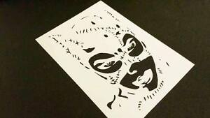 Why so serious The Joker Airbrush Paint Mylar Reusable Stencil for Your Art Work