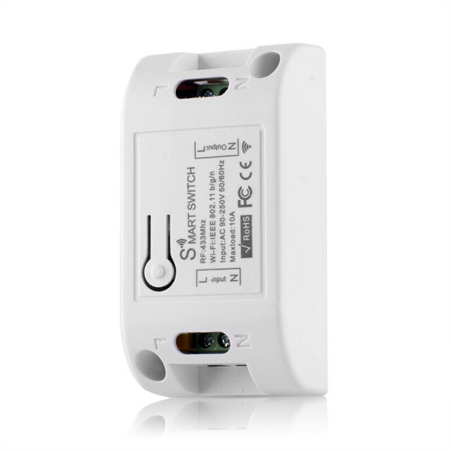WiFi Smart Light Switch Universal Breaker For Smart Life APP Alexa Google Hom YR