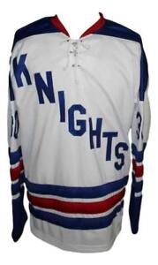Any-Name-Number-Size-Omaha-Knights-Custom-Retro-Hockey-Jersey-White