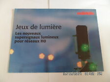 CATALOGUE TRAIN MARKLIN JEUX DE LUMIERE     G81