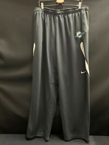 MIAMI-DOLPHINS-NIKE-TEAM-ISSUED-BRAND-NEW-DRI-FIT-PANTS-WITH-POCKETS-SZE-4XL