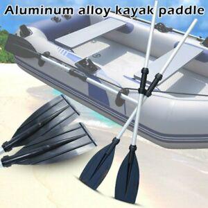2x Paddel Kajakpaddel Aluminiumpaddel Paddelkopf Ruder für Schlauchboot Kanus