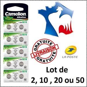 Piles-bouton-Alcaline-1-5V-Type-AG10-LR54-LR1130-389-NEUF