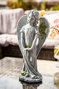 Garden Ornament Fairy Large Magical Stone effect Figurine Angel Statue Gift 30cm